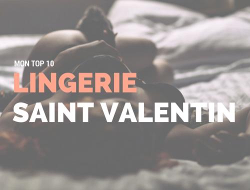 lingerie saint valentin