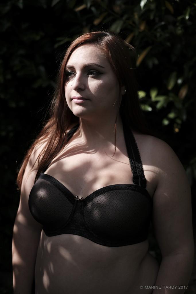 soutien-gorge bandeau grande taille Fantasie blog lingerie soutien-gorge sans bretelles
